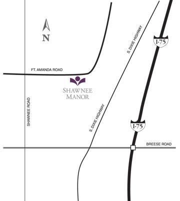 Shawnee-Manor-map, maps & directions, HCF Inc